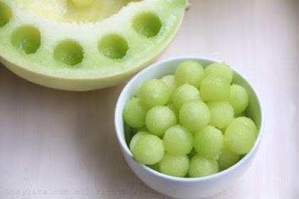 Yuuk Kreasikan Buah Melon Sebagai Minuman Berbuka Puasa