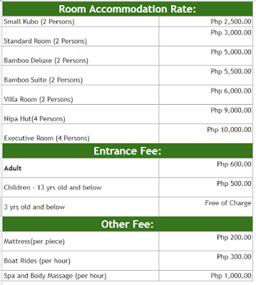 88 Hotspring Resort Rates Laguna