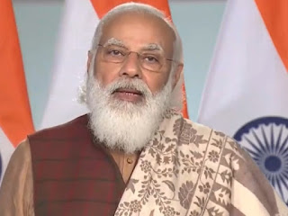 यही हैं हमारी मिट्टी के संस्कार, प्रवासी भारतीय दिवस कार्यक्रम में बोले पीएम मोदी