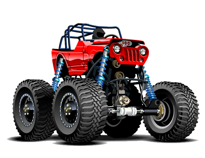Jeep Pickup truck Car Monster truck, jeep, poster, racing png by: pngkh.com