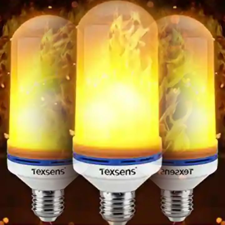 Decorative LED Flame Lighting Bulbs with Effects - Texsens