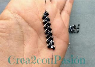 progreso-Anillo-zig-zag-half-tila-beads-de-crea2-con-pasión