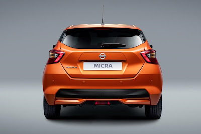 Nissan Micra 2017 rear view image