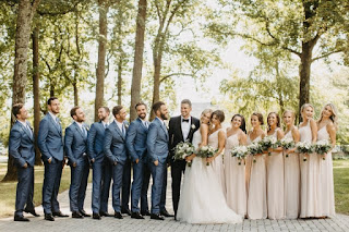 Roman Josi Wedding Pic