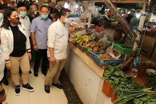 Pasar Di Jakarta Terapkan Protokol Kesehatan