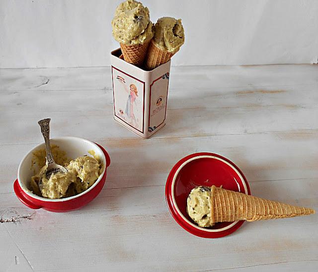 gelado pistachio receita