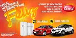 Promoção Supermercados Cereal 2019 - Prêmios, Participar