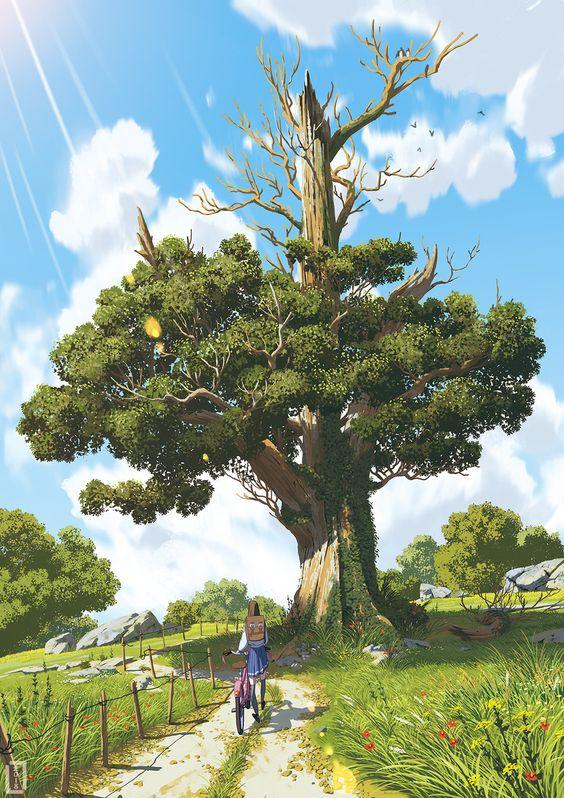 Magic Tree Art