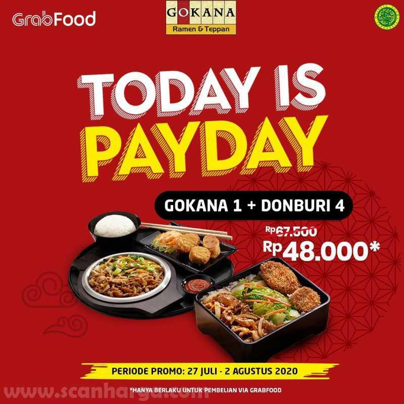 Promo Gokana Payday Periode 27 Juli - 2 Agustus 2020 2