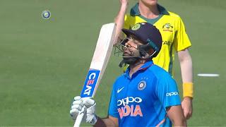 Rohit Sharma 95 vs Australia Highlights