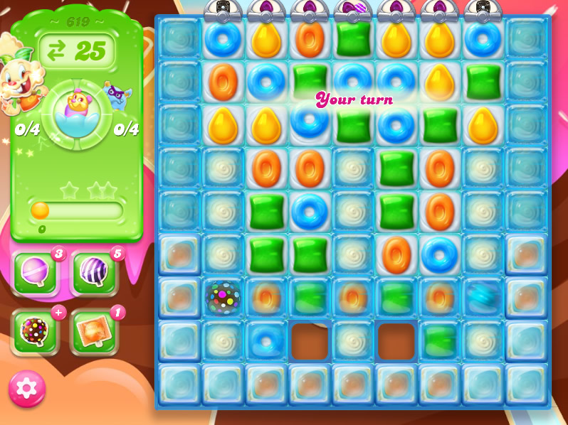 Candy Crush Jelly Saga level 619