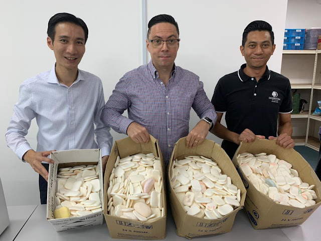 DoubleTree by Hilton Johor Bahru Champions for a Positive Change in Communities with its First Ever Soap-Recycling Program