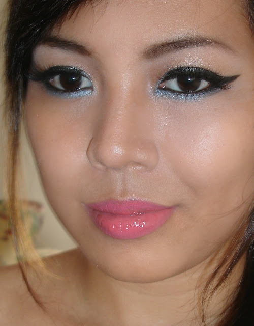 Shing ♥: Youtube: Dara-Funky Aqua Inspired Makeup
