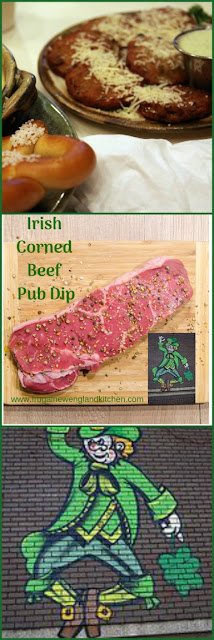 Irish Pub Corned Beef Dip Appetizer