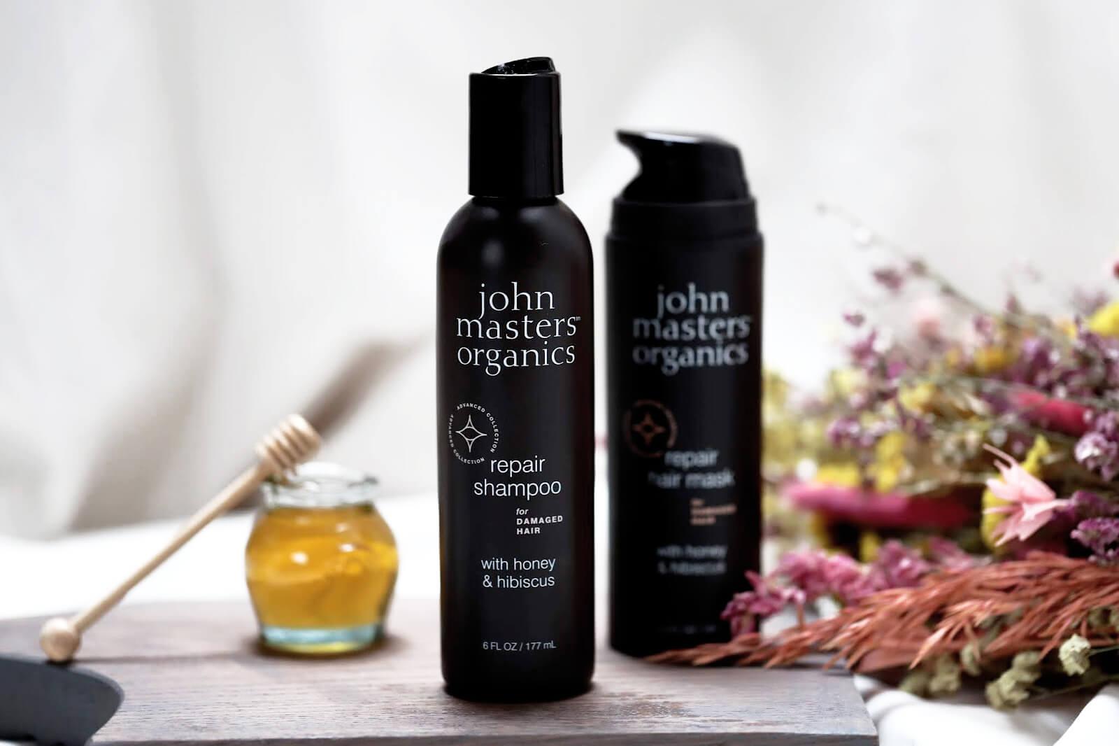 John Masters Organics Repair Shampooing Avis