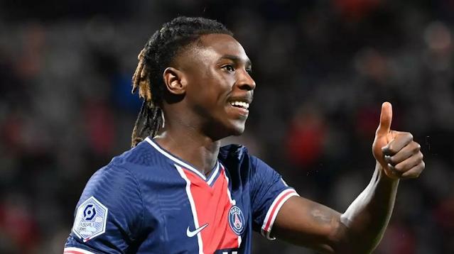 باريس سان جيرمان بفوزه على ضيفه نيس 2-1