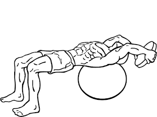 dumbbell pullover crunches