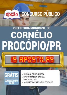 Apostila Concurso Prefeitura de Cornélio Procópio PR 2020 PDF Edital Online Inscrições