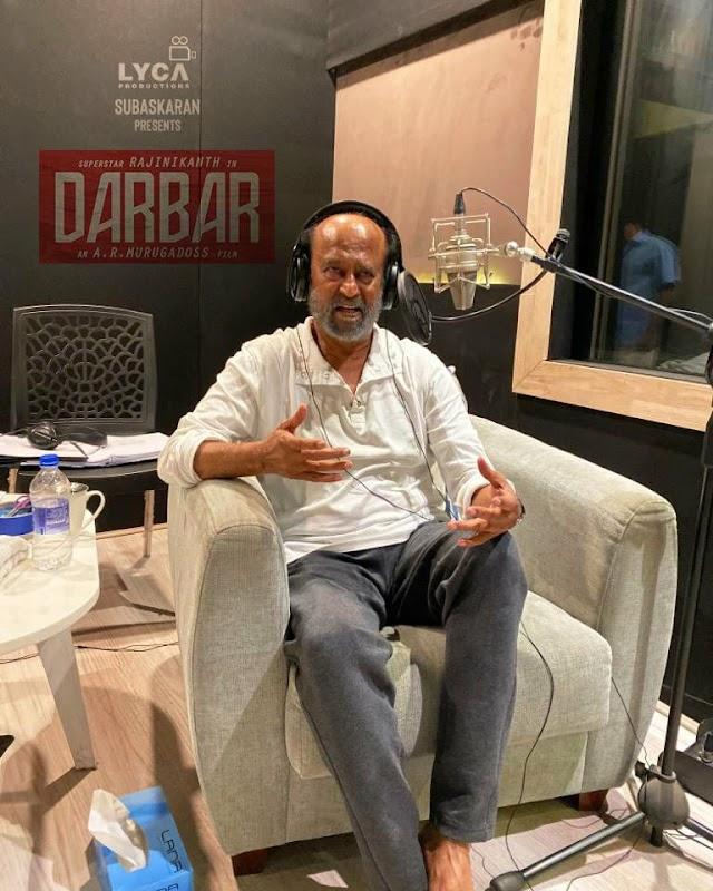 Fast Updates - Telugu Celebs -  Darbar Dubbing Started