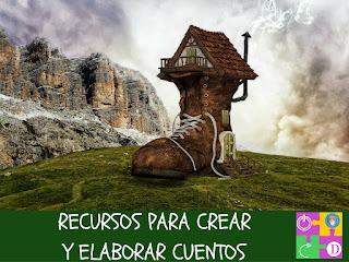 http://micajondesastreinfantil.blogspot.com.es/2016/10/recursos-para-crear-y-elaborar-cuentos.html