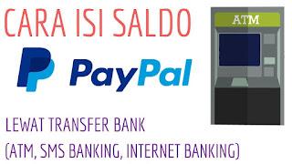 Mengisi Saldo Paypal Melalui ATM
