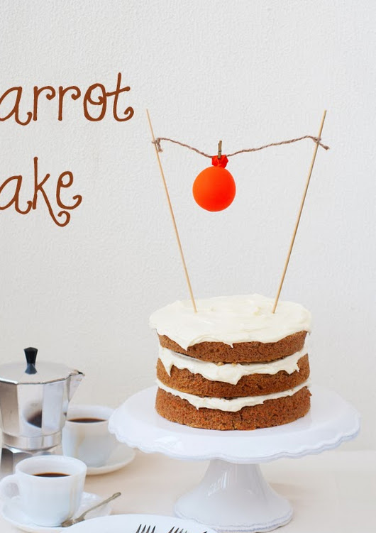 Haidee's Kitchen: Carrot Cake