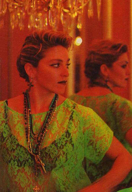 Amomadonna Rare Madonna Quot Like A Virgin Quot Video Behind The Scenes Pics