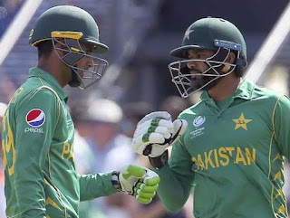 England vs Pakistan 1st Semi-final ICC CT 2017 Highlights