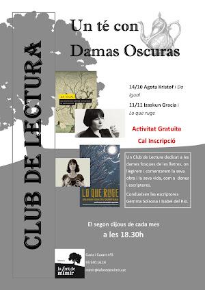CLUB DE LECTURA UN TÉ CON DAMAS OSCURAS