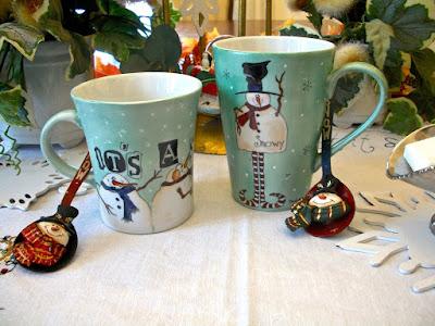 christmas mug  snowman