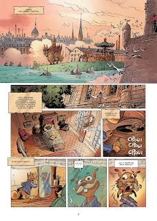 EKHÖ Mundo Espejo vol. 9 · Abiyán, Nairobi Express, de Christophe Arleston y Alessandro Barbucci - Norma Editorial