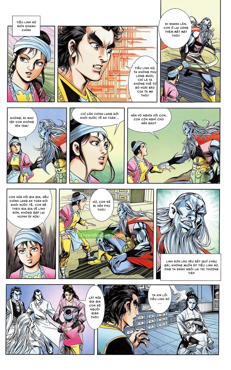 Tần Vương Doanh Chính chapter 21 trang 24