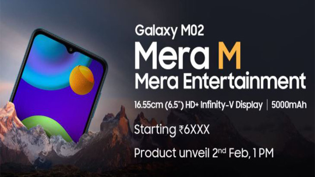 Samsung Galaxy M02 Specification, Launch Date, Best Price in India