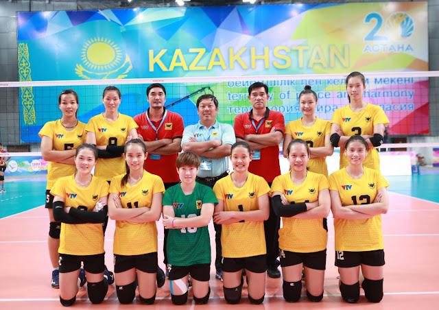 Cúp các CLB nữ vô địch châu Á 2018: VTV Bình Điền Long An thắng dễ