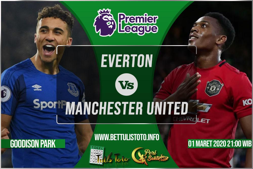 Prediksi Everton vs Manchester United 01 Maret 2020