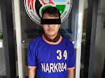 Simpan 4 Plastik Klip Berisi Sabu dengan Berat Total 8,8 Gram, Seorang Warga Desa Gadungan - Kediri ini Dibekuk Polisi