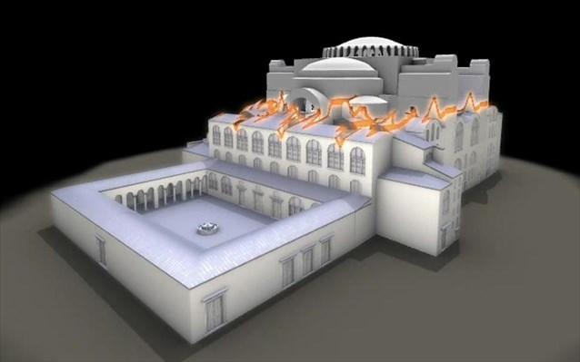History of Hagia Sophia at Hellenic Cosmos VR 'Tholos' Theatre