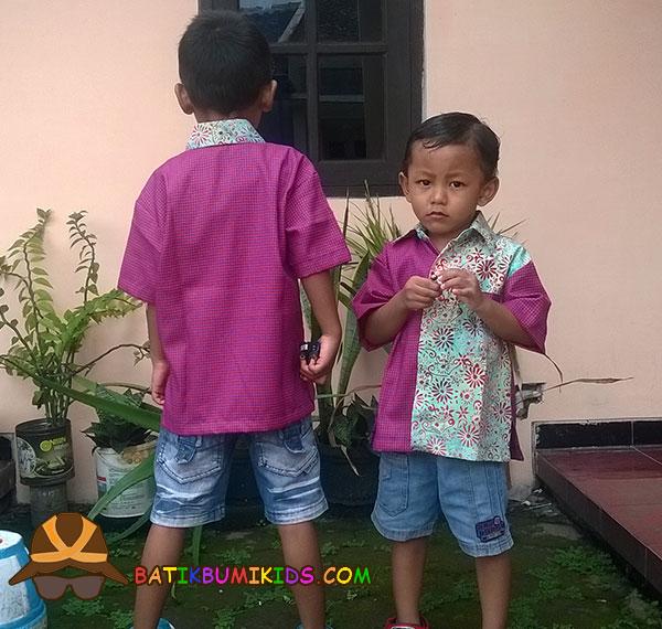 Kemeja Batik Anak Elang Yam Dyed series.