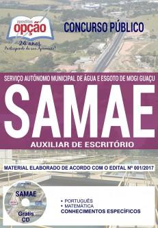 Apostila Auxiliar de Escritório SAMAE Mogi Guaçu