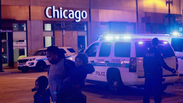 Four Dead, Four Injured After Shooting in Chicago, Suspect Not In Custody, Reports Suggest