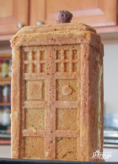Tardis Cake 3 - photo by Deborah Frings - Deborah's Gems