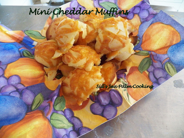 Mini Cheddar Muffins