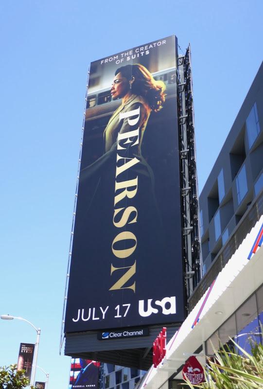 Gina Torres Pearson series premiere billboard