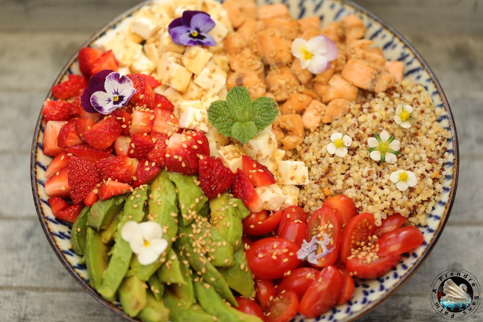 Bowl au quinoa à partager