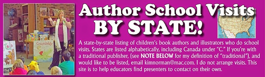 Author School Visits BY STATE!