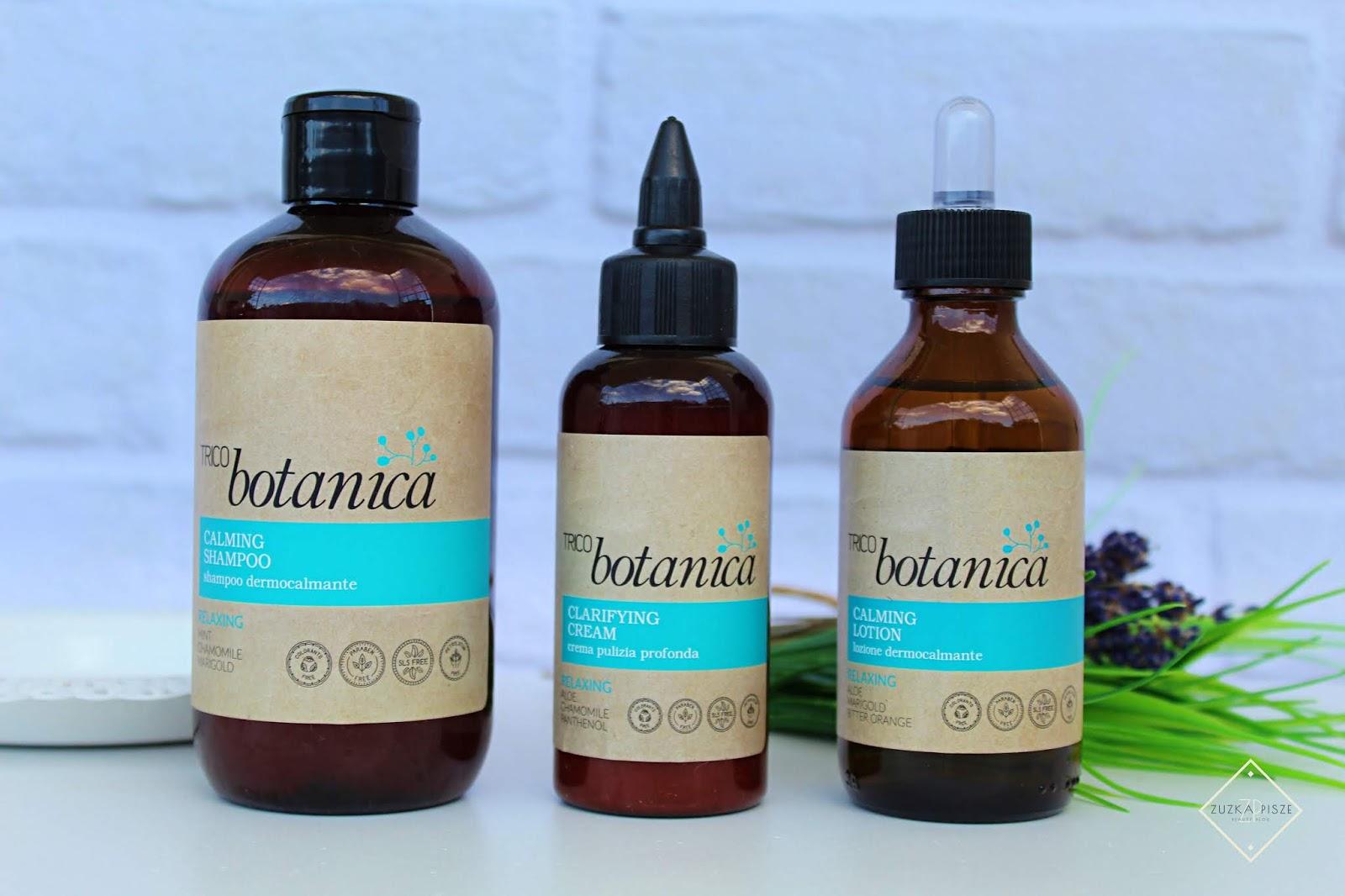 Tricobotanica - Oczyszczanie i relaks - włoskie kosmetyki do pielęgnacji włosów