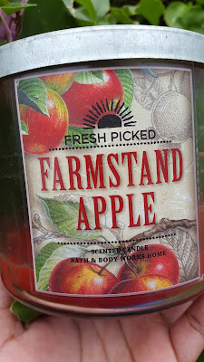 Bath and Body Works 'Farmstand Apple' 3 Wick Candle - www.modenmakeup.com