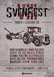 Svenfest 2019 [Vol. 8] poster