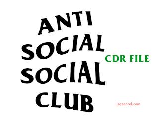 Anti Social Social Club CDR Vector