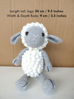 Crochet Sheep Lamb Amigurumi
